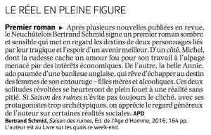 Le Courrier, Anne Pitteloud